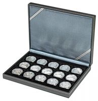 NERA Coin case XM with 15 rectangular compartments for coins/coin capsules up to external Ø 40 mm – Bild 1