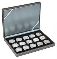 NERA Coin case XM with 15 rectangular compartments for coins/coin capsules up to external Ø 40 mm – Bild 2
