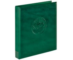 "Ring binder ""Half PENNY"" incl. 10 coin pages, green – Bild 2"