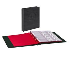 "Ring binder ""Half PENNY"" incl. 10 coin pages, black – Bild 1"
