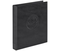 "Ring binder ""Half PENNY"" incl. 10 coin pages, black – Bild 2"