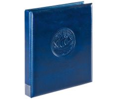"""Пустая папка-переплёт """"Half Penny"""", синего цвета – Bild 1"""