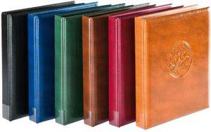 "Ring binder ""Half PENNY"", empty, dark brown – Bild 2"