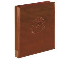 "Ring binder ""Half PENNY"", empty, dark brown – Bild 1"