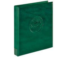 """Пустая папка-переплёт """"Half Penny"""", зелёного цвета – Bild 1"""
