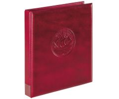 "Ring binder ""Half PENNY"", empty, wine red – Bild 1"