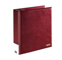 PUBLICA L Postcard album, wine red – Bild 2