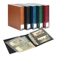 PUBLICA M Banknote album for 80 banknotes/postcards, tan – Bild 1