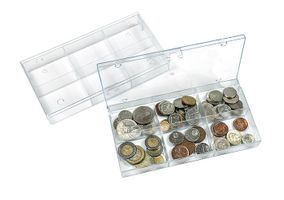 Stackable Collecting boxes with 6 fix compartments - pack of 10 – Bild 1