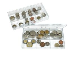 Box de collection transparent, à 6 compartiments fixes  63x48 mm - paquet de 10 box – Bild 5