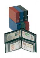 Boîtier de protection pour album-FDC »petit modèle«, format long - vert