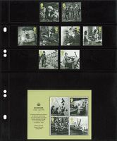 """Multi collect"" pages with 4 strips per page, black - pack of 10 – Bild 2"