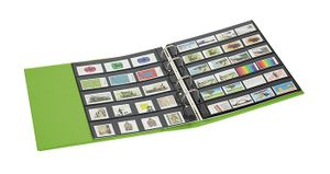 PUBLICA M COLOR Stockpage album for stamps with 10 pages that can be filled from both sides, two variations, Spring (green) – Bild 4