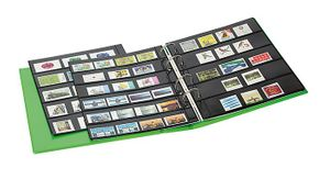 PUBLICA M COLOR Stockpage album for stamps with 10 pages that can be filled from both sides, two variations, Spring (green) – Bild 5
