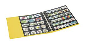 PUBLICA M COLOR Stockpage album for stamps with 10 pages that can be filled from both sides, two variations, Solino (yellow) – Bild 3