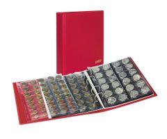 Album numismatique PUBLICA M COLOR avec 10 feuilles en 5 versions-Berry (rouge) – Bild 1