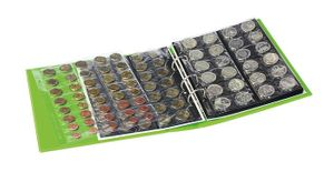 PUBLICA M COLOR Coin album incl. 10 coin pages, Spring (green) – Bild 3