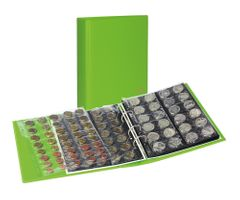 PUBLICA M COLOR Coin album incl. 10 coin pages, Spring (green) – Bild 1