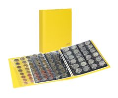 PUBLICA M COLOR Coin album incl. 10 coin pages, Solino (yellow) – Bild 1