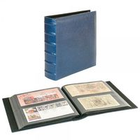 Album universel FIRMO L pour 216 documents extra longs - bleu – Bild 1
