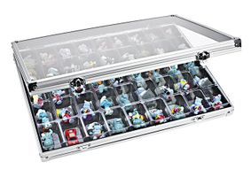 Aluminum Display Case with 45 compartments 36 x 49 mm – Bild 1