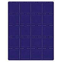 Velour insert dark blue, 2122ME (Ø 50 mm) – Bild 1