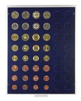 Velour insert dark blue, 2506ME (for 6 x EURO coin sets) – Bild 2