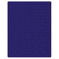 Velour insert dark blue, 2506ME (for 6 x EURO coin sets) – Bild 1