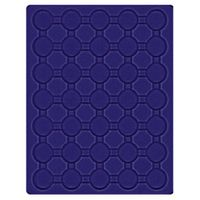 Velour insert dark blue, 2530ME (Ø 32 mm) – Bild 1