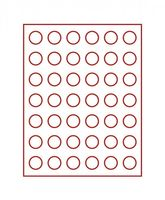 Velour insert dark red, 2707E (Ø 27,5 mm) – Bild 2