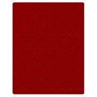 Velour insert dark red, 2708E (Ø 23,5 mm) – Bild 1
