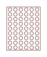 Velour insert dark red, 2709E (Ø 26,75 mm) – Bild 2