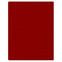 Velour insert dark red, 2901E (Ø 16,5 mm) – Bild 1