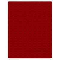Velour insert dark red, 2902E (Ø 19,25 mm) – Bild 1