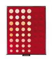 Velour insert dark red, 2906E (for 6 x EURO coin sets) – Bild 2