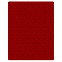 Velour insert dark red, 2910E (Ø 21,5 mm) – Bild 1