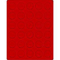Велюровый планшет красного цвета  2101E (Ø36 мм) – Bild 1