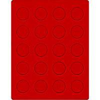Велюровый планшет красного цвета  2102E (Ø38 мм) – Bild 1
