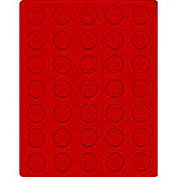 Velour insert light red, 2104E (Ø 31 mm) – Bild 1