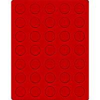 Велюровый планшет красного цвета  2104E (Ø31 мм) – Bild 1