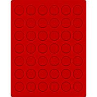 Velour insert light red, 2105E (Ø 29,5 mm) – Bild 1