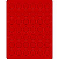 Велюровый планшет красного цвета  2105E (Ø29,5 мм) – Bild 1