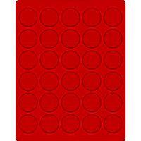 Велюровый планшет красного цвета  2106E (Ø39 мм) – Bild 1