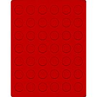 Velour insert light red, 2107E (Ø 27,5 mm) – Bild 1