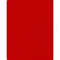 Велюровый планшет красного цвета  2107E (Ø27,5 мм) – Bild 1