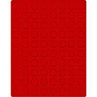 Велюровый планшет красного цвета  2108E (Ø23,5 мм) – Bild 1