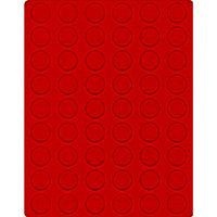 Velour insert light red, 2109E (Ø 26,5 mm) – Bild 1