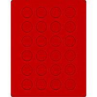 Велюровый планшет красного цвета  2110E (Ø32,5 мм) – Bild 1