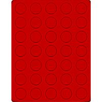 Велюровый планшет красного цвета  2111E (Ø32,5 мм) – Bild 1