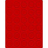 Велюровый планшет красного цвета  2161E (Ø37 мм) – Bild 1
